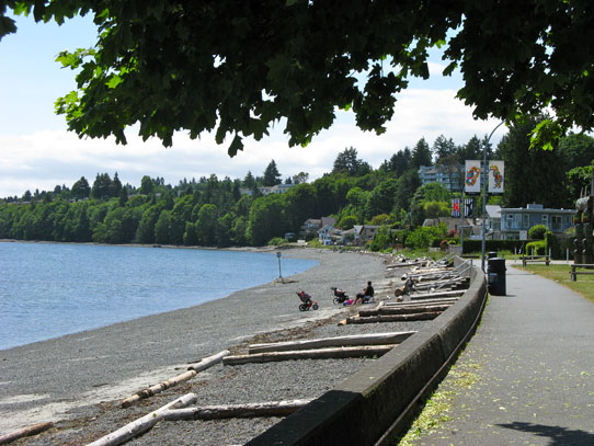 Photo of Nanaimo's Departure Bay beach