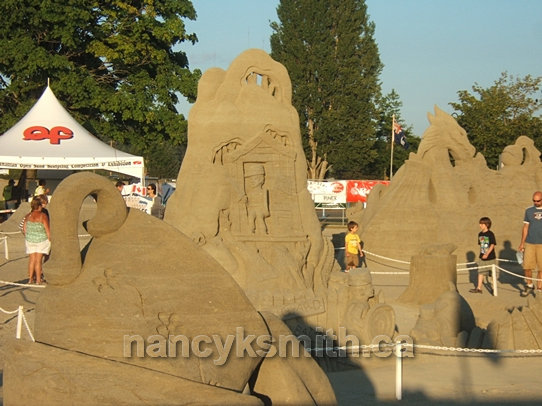 Photo of Sandcastle Competition