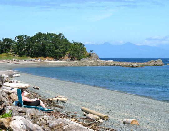 Photo of Piper's Lagoon beach, in Nanaimo, BC