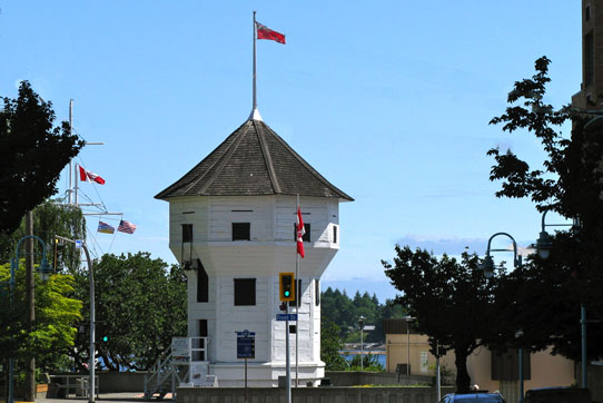 Photo of the famous Bastion in downtown Nanaimo